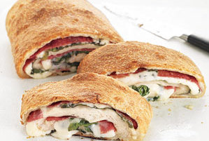 Salami and Spinach Stromboli | 10 Recipe Ideas for Pizza Dough - Real ...