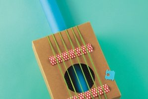 Shoe Box Guitar Toys You Can Make Real Simple