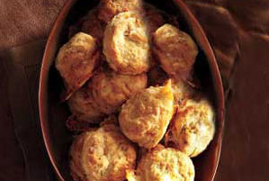 Brie and Chive Biscuits Recipe | Real Simple