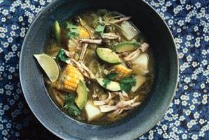 Colombian Chicken and Potato Soup | Soup Recipes | Real Simple