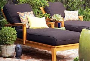 how to clean outdoor furniture real simple