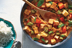 Tofu and Vegetable Curry With Rice Recipe Real Simple