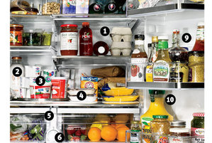 How to Organize Your Refrigerator Drawers and Shelves Real Simple