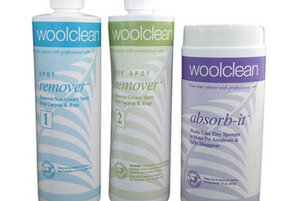 WoolClean Carpet Spot Remover Kit By Wools Of New Zealand