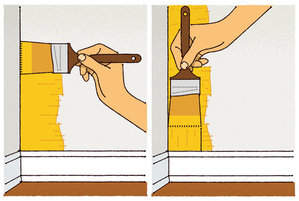 how to paint corners real simple