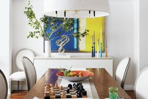on dining room tables chandeliers and more feng shui decorating tips real simple chinese feng shui dining