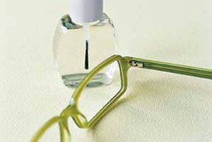 how to fix loose glasses screw