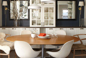 32 Elegant Ideas for Dining Rooms - Real Simple on kitchen wall art pinterest, casual dining room ideas pinterest, kitchen islands with seating, kitchen decorating theme ideas, kitchen artwork ideas, kitchen wall decor, white kitchen ideas pinterest, kitchen wall shelves decorating ideas, small kitchen ideas pinterest, vintage kitchen ideas pinterest, kitchen table ideas pinterest, kitchen wall plate, kitchen windows over sink ideas, kitchen backsplash ideas, farmhouse kitchen ideas pinterest, kitchen wall signs sayings, kitchen curtains ideas pinterest, kitchen decorating ideas for walls, kitchen decor pinterest, kitchen decorating your walls,