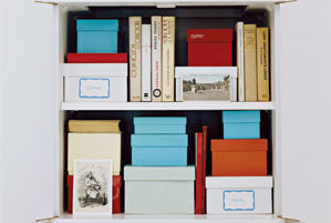Contain photos and letters in shoe boxes turn clutter into storage and decorating solutions - Types of shoe storage solutions for the bedroom ...