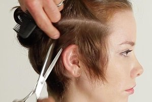 A pixie hair cut in under two minutes video solutioingenieria Gallery