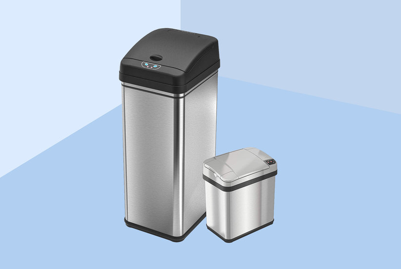 Amazon Shoppers Can't Stop Raving About This Deodorizing Trash Can With 5,000 Five-Star Reviews