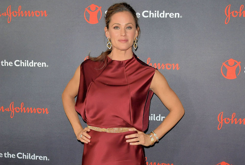 Jennifer Garner's Maroon Dress Is the Glam Winter Look We All Need–Get the Look