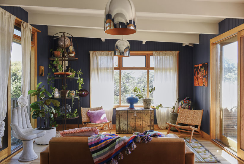 Take a Tour of This Australian Designer's Whimsical, Colorful Home