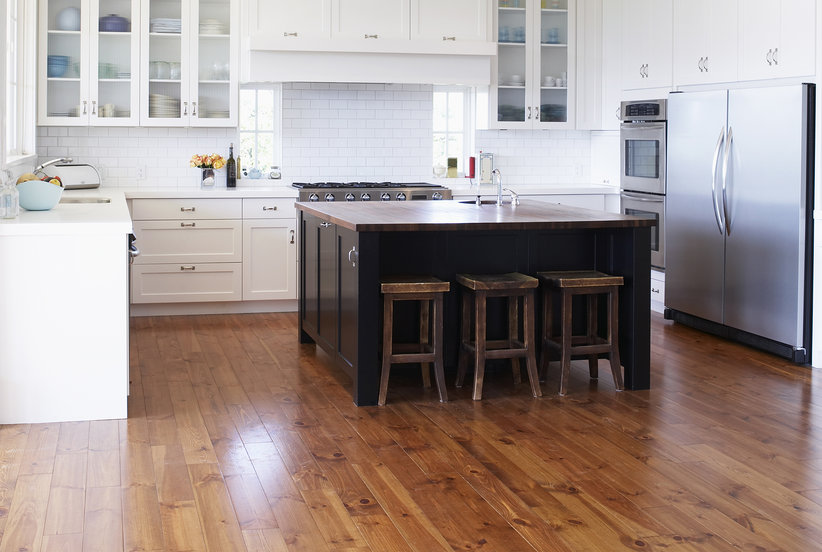 10 expert tips to care for wood floors real simple for Kitchen flooring advice