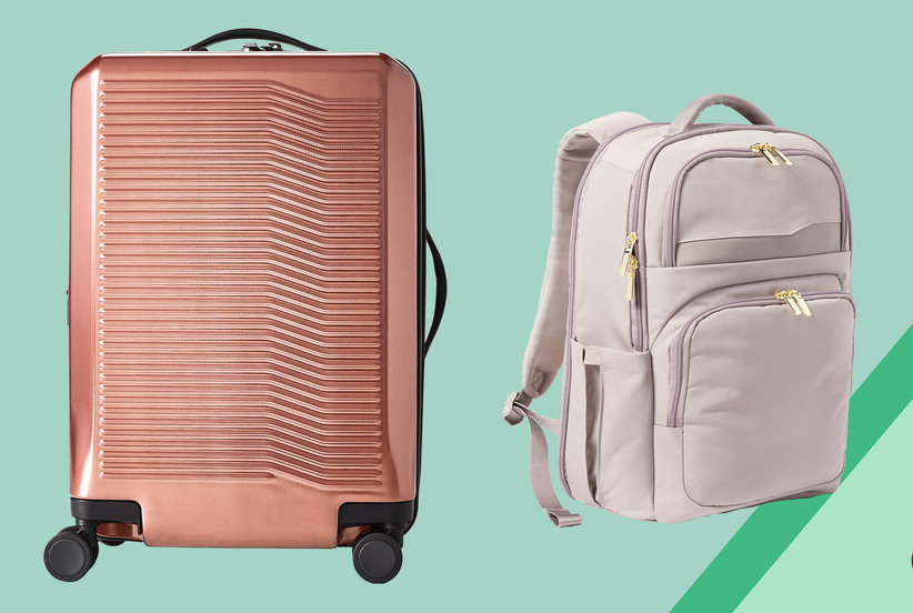 Target's Colorful New Luggage Line Helps Travelers Pack Smarter