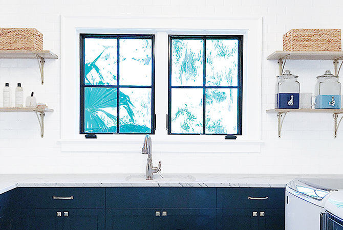 5 Tricks to Creating a Pretty and Practical Laundry Room