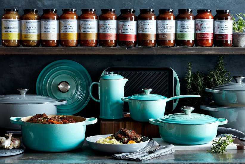 Le Creuset's New Mint Green Collection Is Completely Irresistible