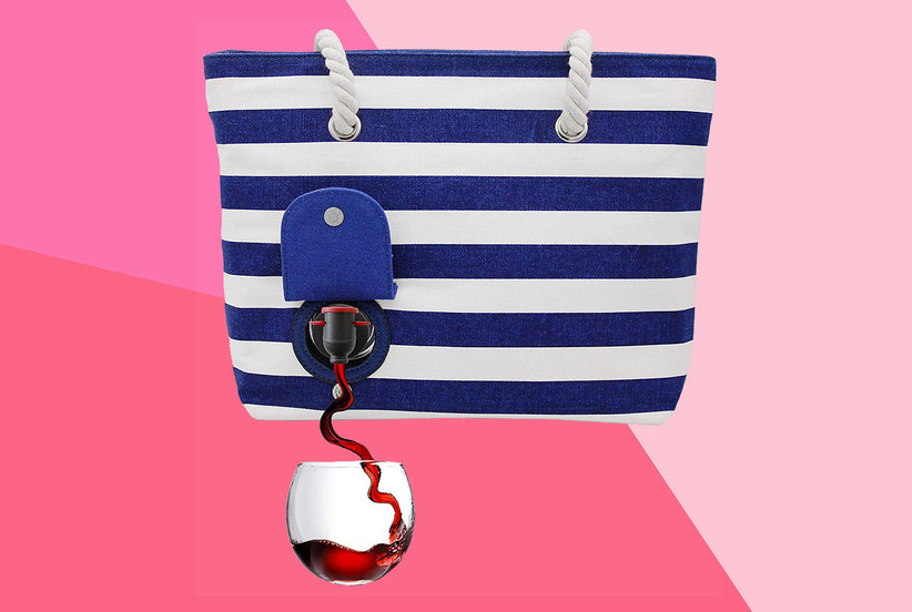This Cute Tote With a Secret Wine Compartment Is the 'Best Invention Ever,' According to Amazon Customers