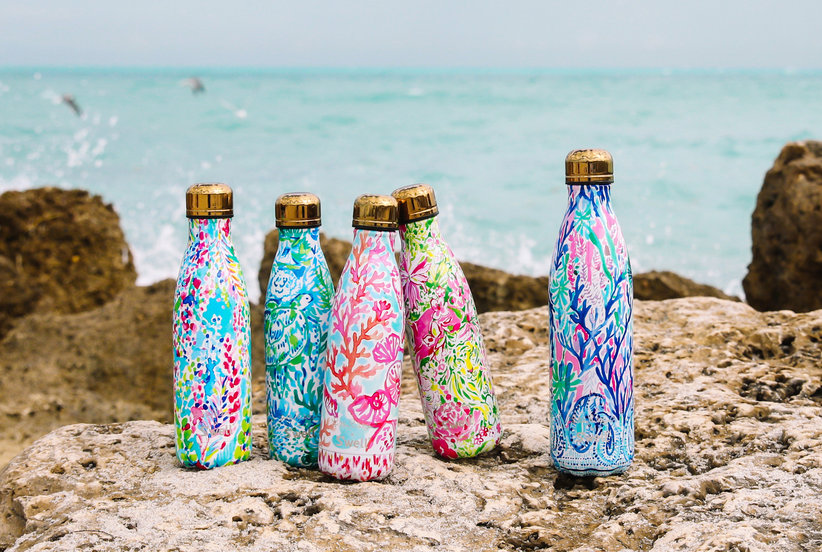cd94cab16b Lilly Pulitzer Just Dropped the Prettiest Water Bottles, And You'll Want To  Buy Them All | Real Simple