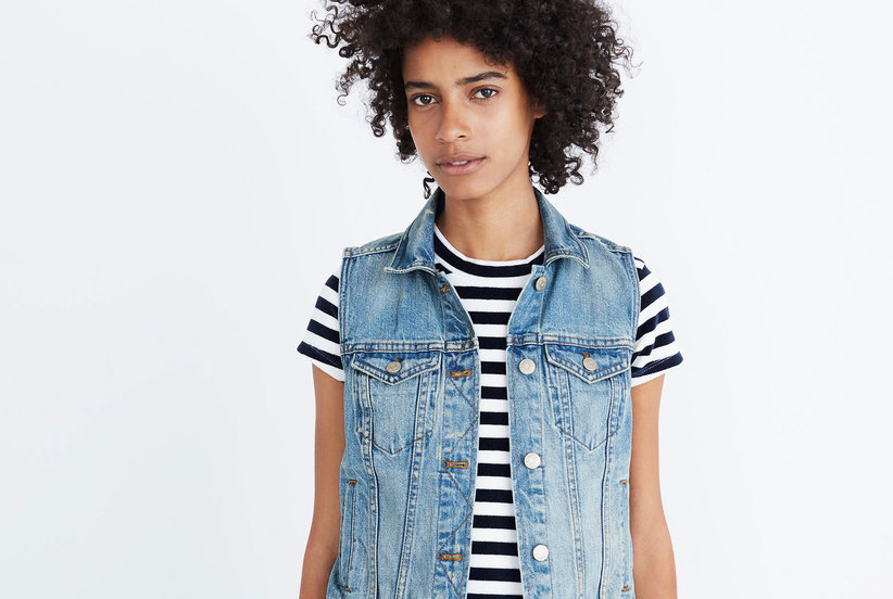 9c35cb51da The Perfect Denim Vest from Madewell