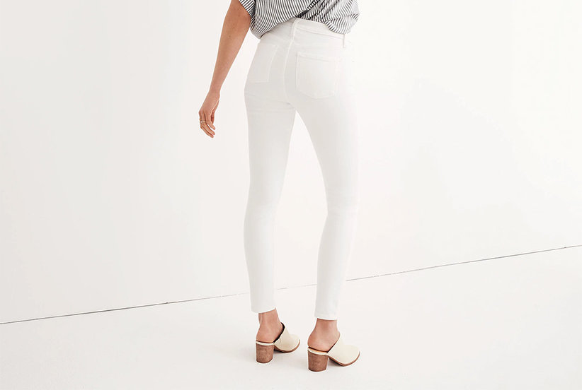 c9ecf565536 I Get Compliments Every Time I Wear These Insanely Comfortable White Jeans