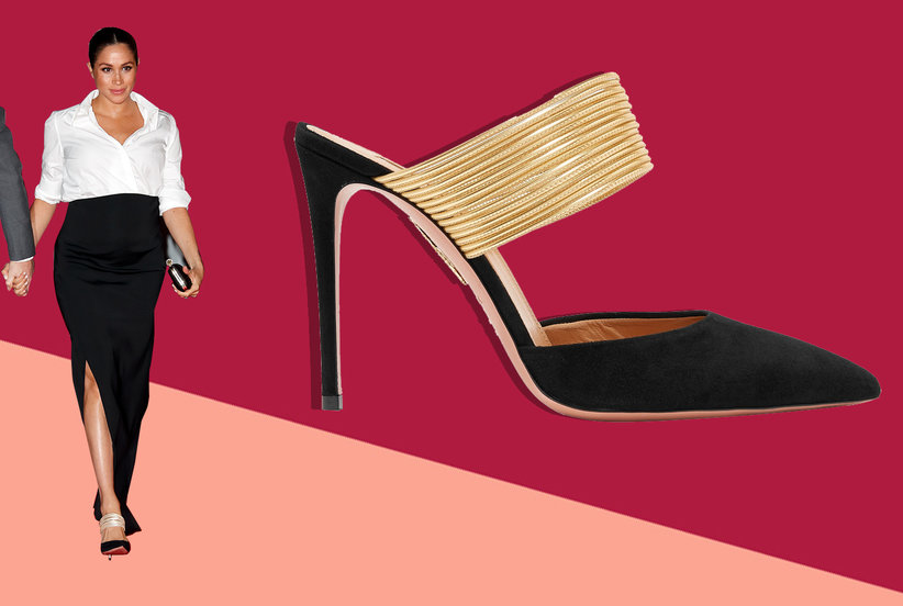 e1bfbd1ca37 The One Meghan Markle-Approved Heel to Splurge On | Real Simple