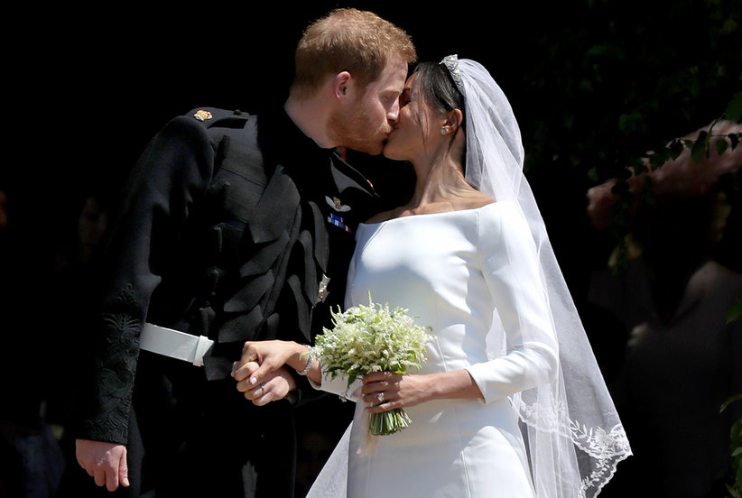 This Affordable Bridal Line Just Recreated Meghan Markle's Wedding Dress for Under $1,500