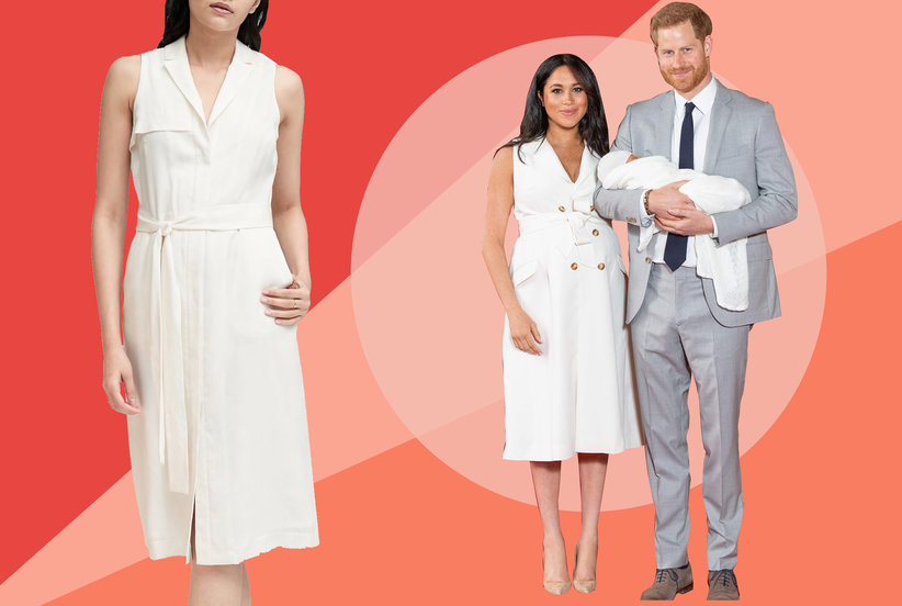 7 Sleeveless White Dresses Inspired By Meghan Markle's Latest Look