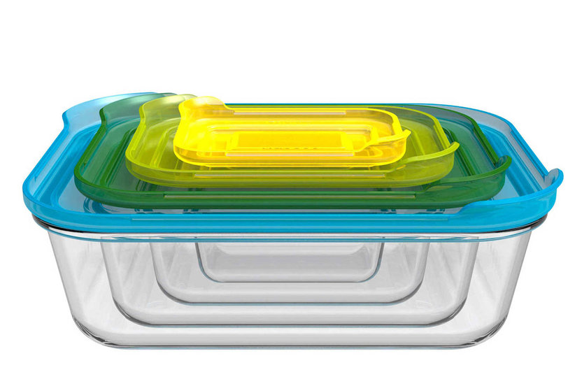 These Nesting Glass Storage Containers Are Total Game-Changers