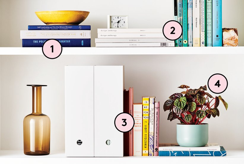 The Secret to Creating a Well-Organized Bookshelf