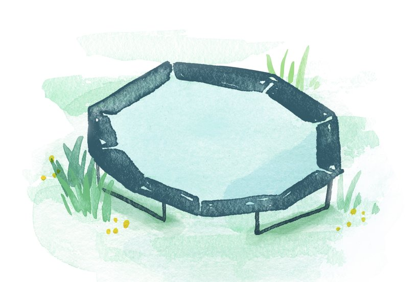 An Ode to the Trampoline That Brought a Group of Neighbors Together