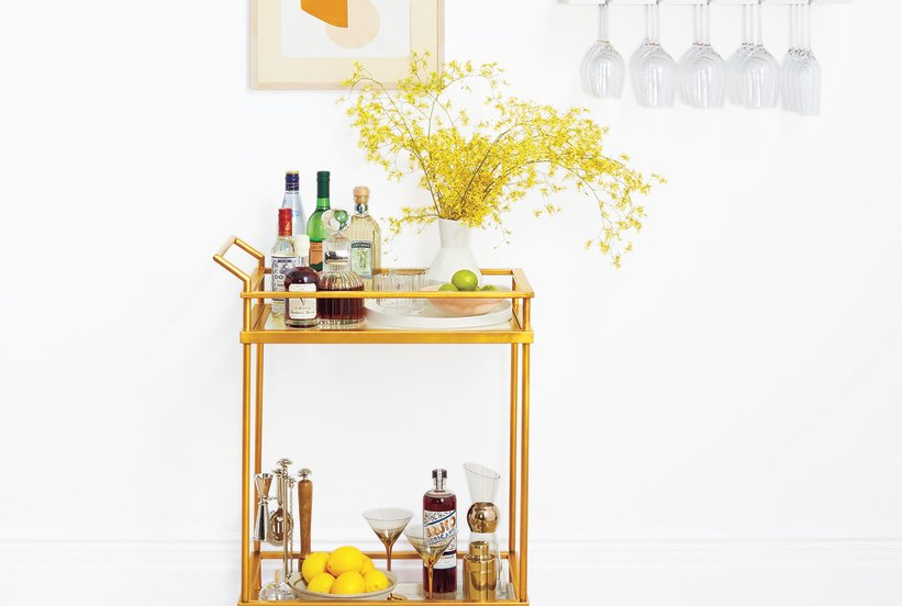 How to Create the Ultimate At-Home Bar