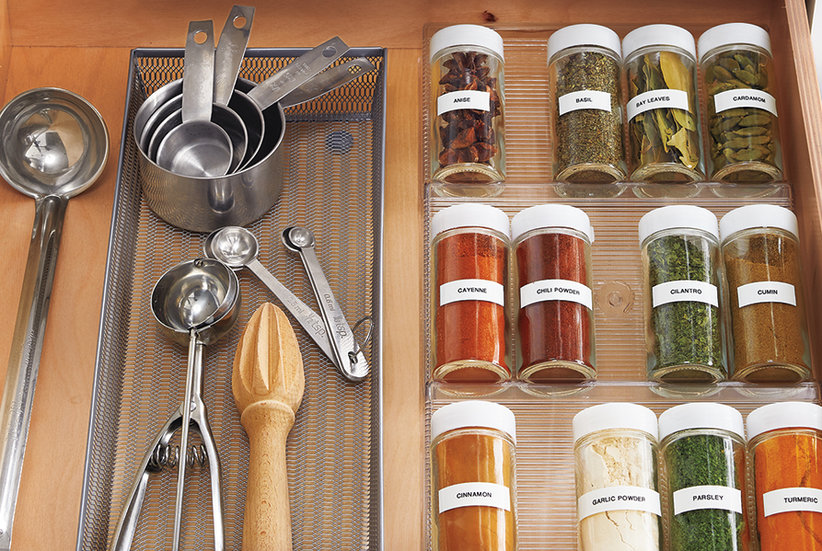 How to Organize Your Spices, According to Professional Organizers
