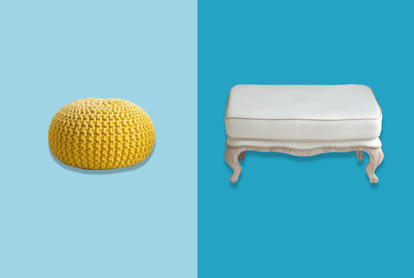 What's the Difference Between a Pouf and an Ottoman?
