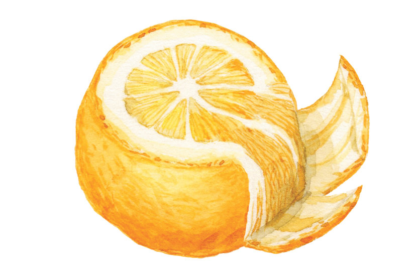 The Easiest Way to Segment an Orange