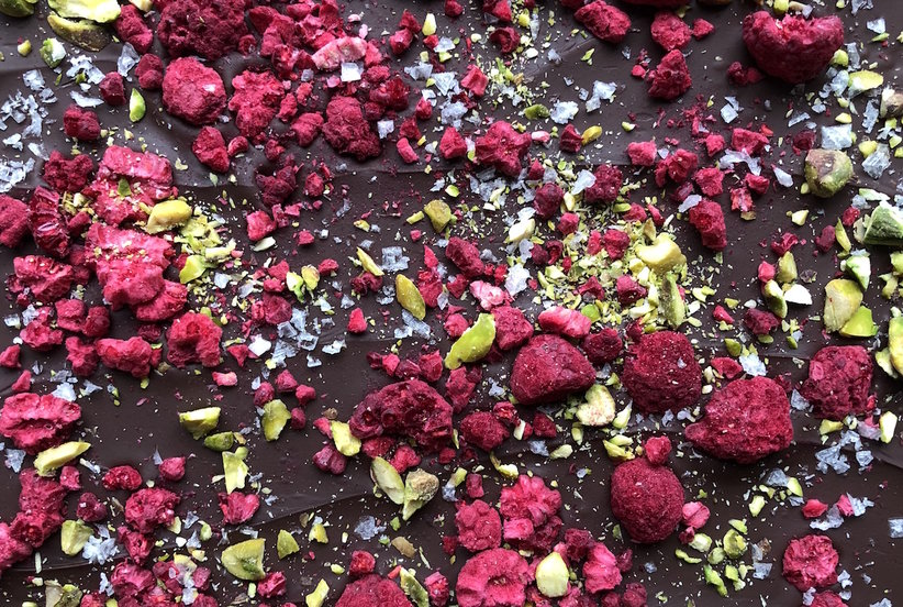 The Best Raspberry Chocolate Bark You'll Ever Eat (Trust)
