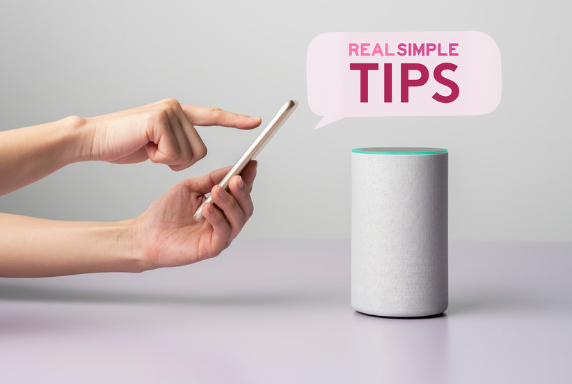 You Can Now Listen to Real Simple Tips Daily on Your Alexa, Google Home, or Favorite Podcast Platform