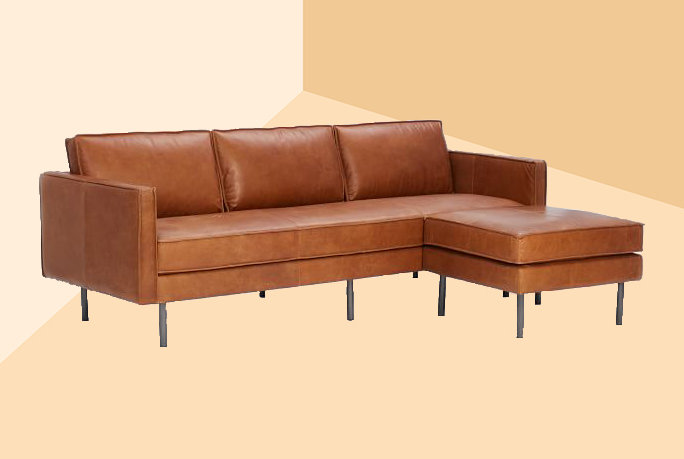 Fine Amazing Deal On Myars 91 Leather Sofa Coffee Brown Pabps2019 Chair Design Images Pabps2019Com