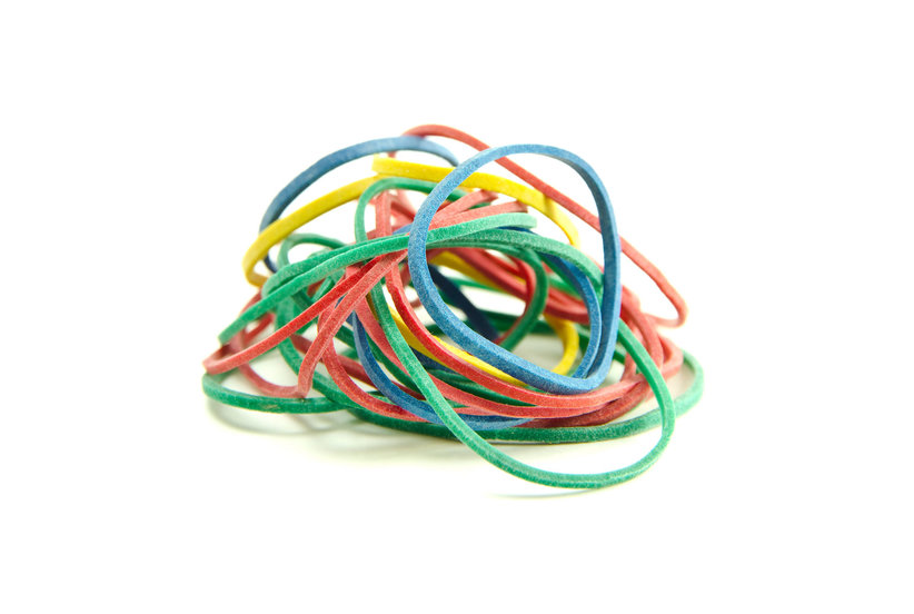 7 Unexpected Problems You Can Solve With Rubber Bands