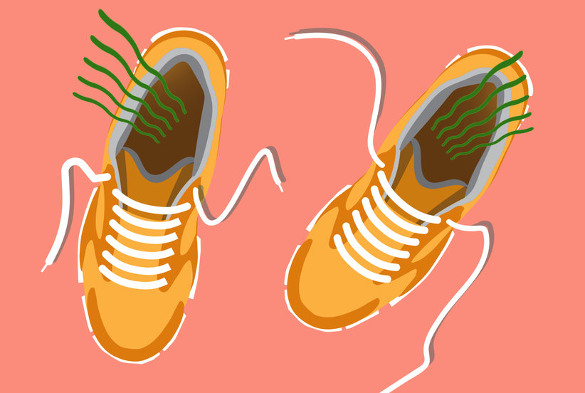 How to De-Stink Smelly Sneakers