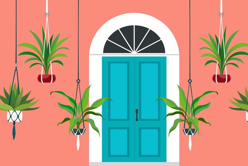5 Incredibly Easy Steps to Sprucing Up Your Front Door in One Day
