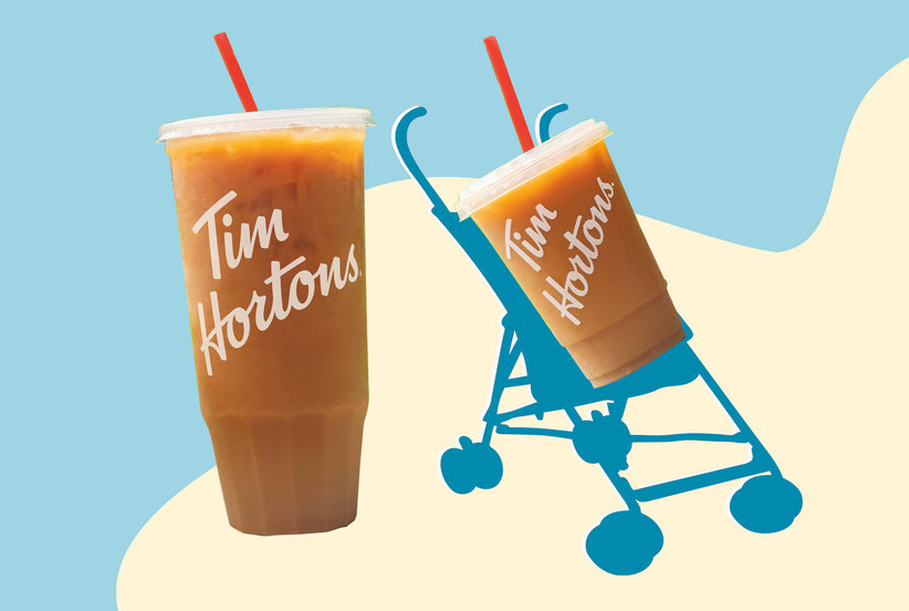 You Have to See the Hilarious Stunt Tim Hortons Is Pulling for Mother's Day