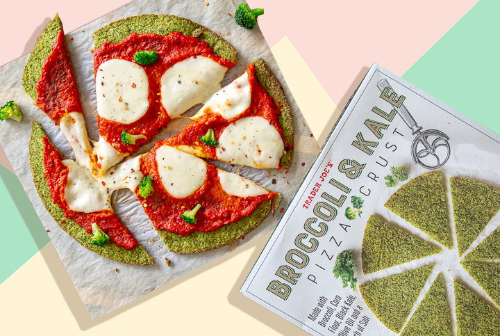 Does the New Trader Joe's Broccoli and Kale Pizza Crust Taste Better Than It Looks? We Tried It to Find Out