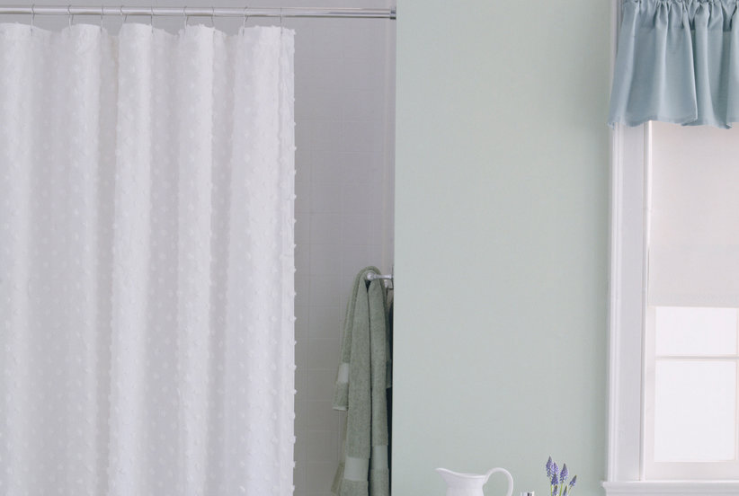 Lace Curtains And How To Clean Them Properly This Unexpected Use for a Shower Curtain Is Completely Genius