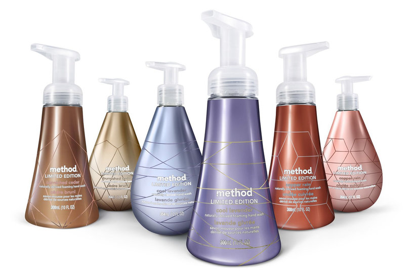 Method's New Metallics Line Makes Rose-Gold Hand Soap a Reality
