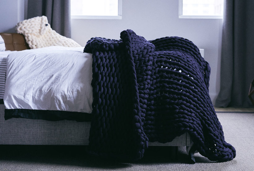 Finally—a Weighted Blanket That Looks as Good as It Feels