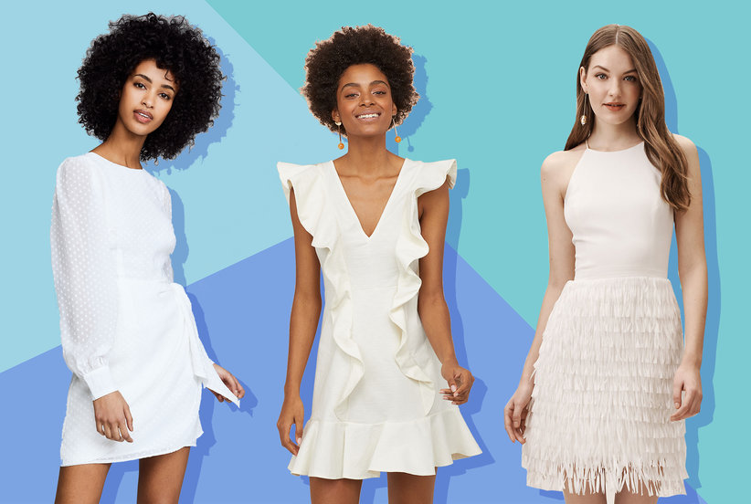 The Best White Bridal Shower Dresses to Wear Right Now