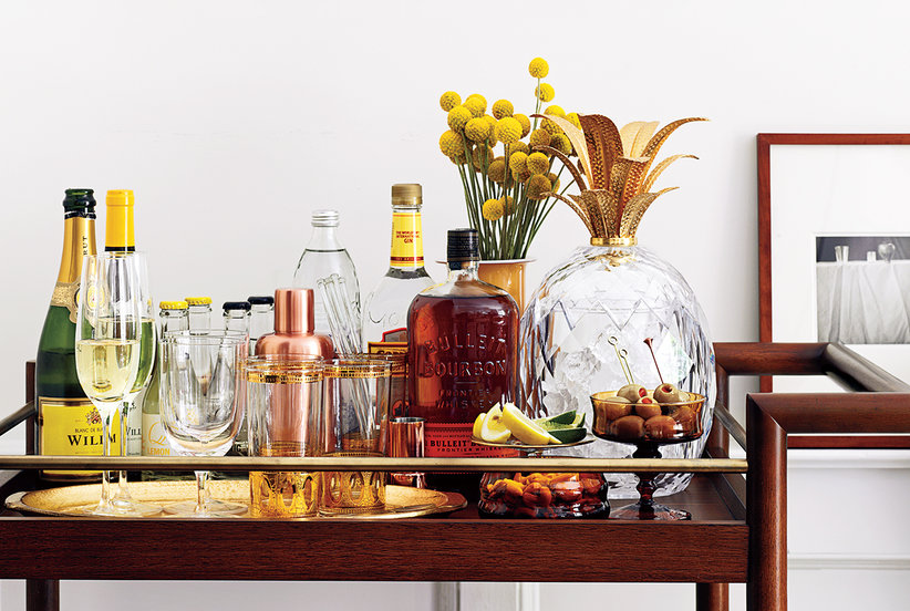 How to Stock Your Bar Cart Like an Adult