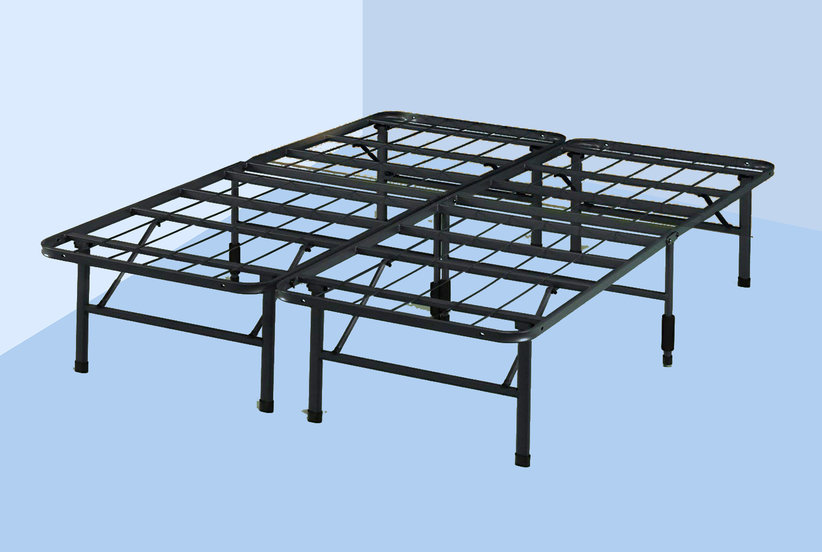 This Best-Selling Bed Frame Saves Me So Much Space With Its Under-the-Bed Storage