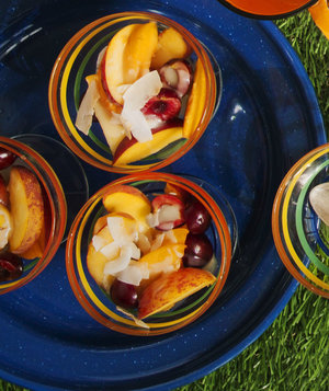 Summer Ambrosia Cups | Real Simple